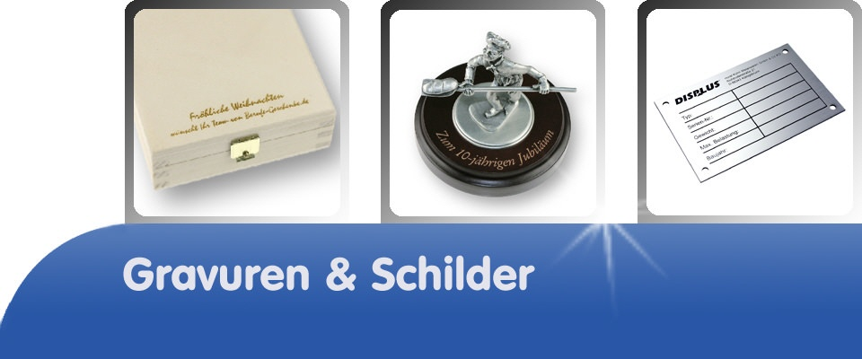 Gravuren & Schilder DECO DIRECT®