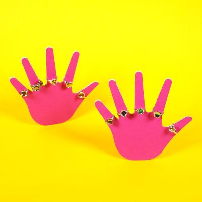 Kinderhand Aufsteller Ca 135 Mm Zweiteilig