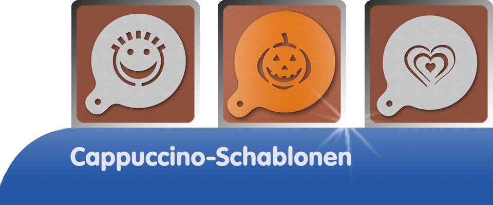 Cappuccino-Schablonen