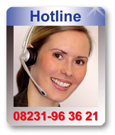 Wir beraten Sie gerne! DECO DIRECT Hotline: 08231 - 96 36 21